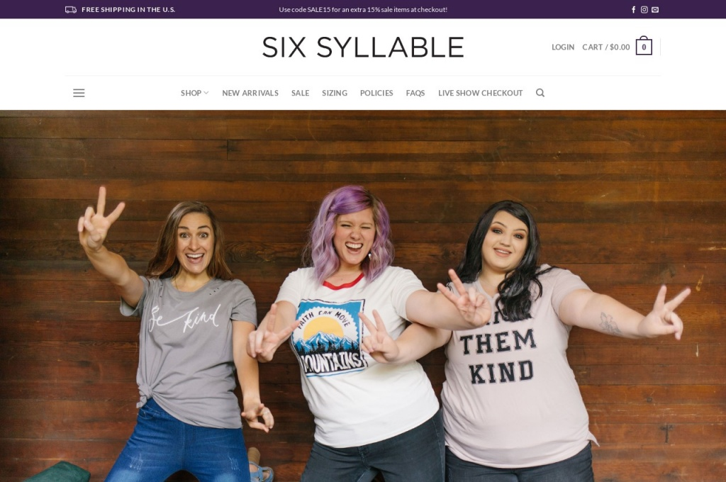 sixsyllable